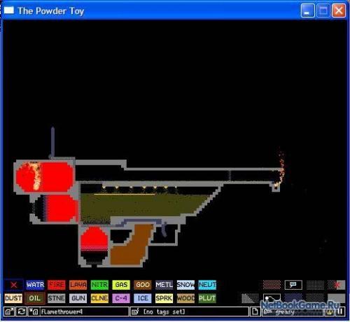 Как сделать в the powder toy 143
